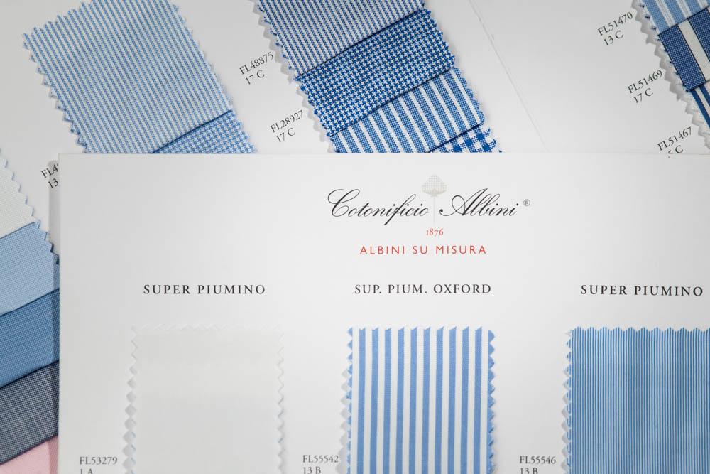 Cotonificio Albini Italian fabrics