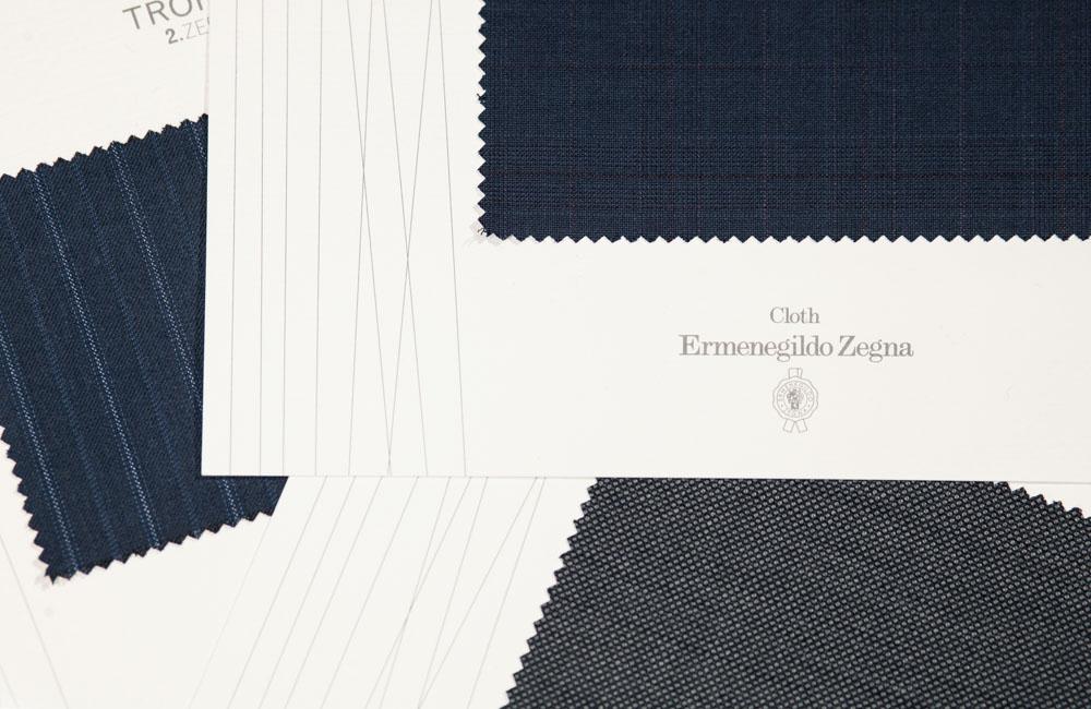 Ermenegildo Zegna Italian fabrics